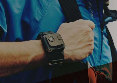 Wrist-Worn Action Cameras - The 'Frodo' Wearable Action Camera Allows for On-the-Go Editing