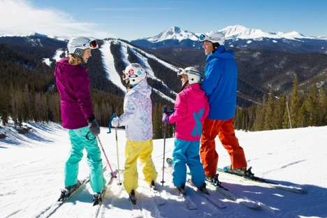 Family-Friendly Ski Resorts - Colorado's Keystone Resort Serves Snacks on the Slopes