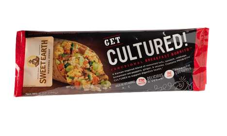 Cultured Breakfast Burritos - Sweet Earth's Healthy Burritos Have Probiotics for Easy Digestion