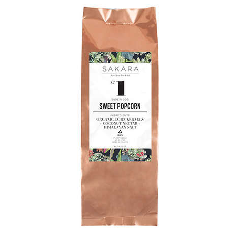 Sweet Superfood Popcorn - Sakara Life's Sweetened Popcorn Encourages Healthy Snacking