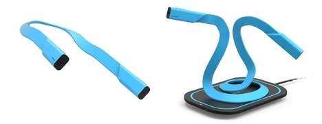 Flexible Snake Cameras - The 'Link' Camera Features a Lens on Either End of the Snake-Like Design