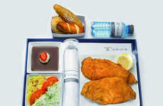 In-Flight Schnitzel Servings
