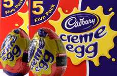 Iconic Candy-Themed Cafes - The 'Cadbury Creme Egg Cafe' Celebrates a Beloved Easter Treat