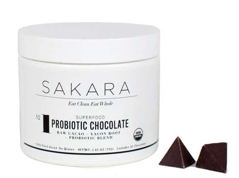 Healthy Probiotic Chocolates - Sakara Life's Chocolate for Health is Loaded with Probiotic Benefits