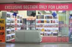 Women-Only Liquor Stores - East Delhi's Star City Mall Has an Alcohol Store for Women Exclusively