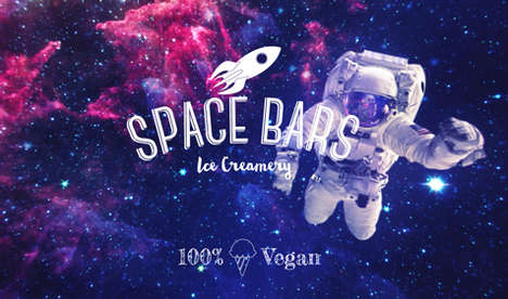 Nitrogren Dessert Parlors - Space Bars is a Pop-Up Ice Cream Shop That Operates Without Freezers