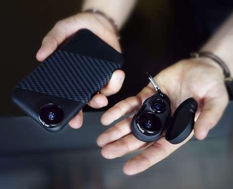 Keychain Smartphone Lenses