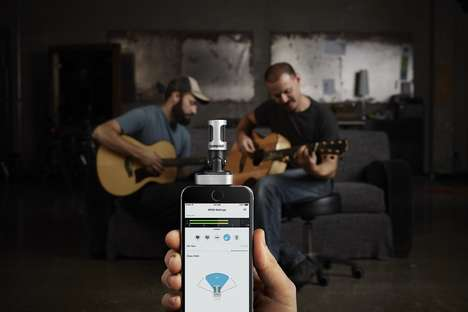 Smartphone Recording Peripherals - The Shure MV88 iOS Digital Stereo Microphone Enables Crisp Audio