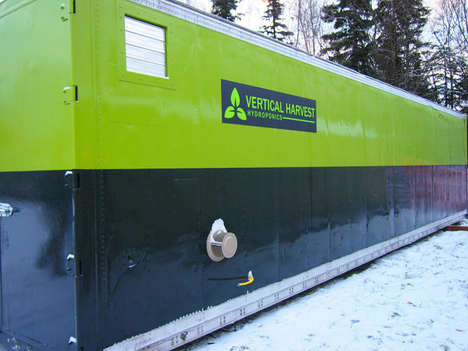 Winterized Vertical Farms - This Startup Supplies Alaskans with Fresh Produce Year-Round