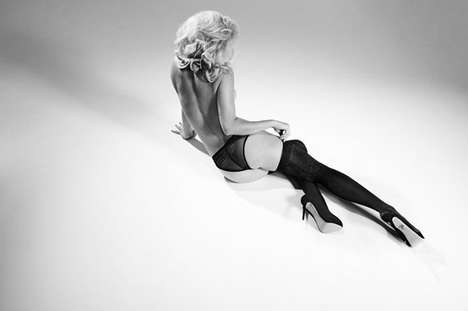 Collaborative Lingerie Collections - The Charlotte Olympia x Agent Provocateur Line is Retro Glamour