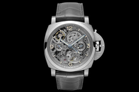 Scientist-Honoring Watches - The Lo Scienziato Luminor 150 Tourbillon Pays Tribute to Galileo