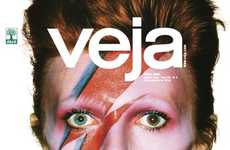 Brazilian Publication 'Veja' Printed 12 Different David Bowie Covers