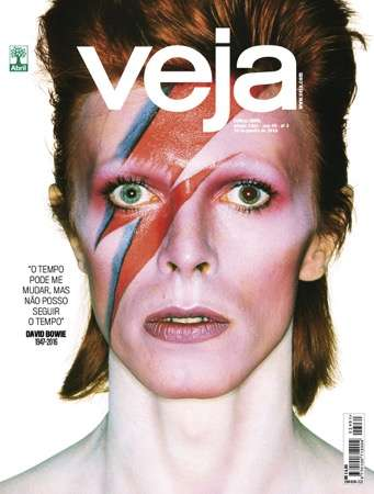 Homage-Paying Magazine Covers - Brazilian Publication 'Veja' Printed 12 Different David Bowie Covers