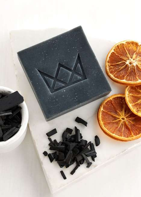 Detoxifying Charcoal Soaps - This Organic Facial Soap is Used to Cleanse and Beautify Skin