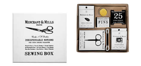 Artisanal Sewing Kits - Kaufmann Mercantile's Vintage Sewing Kit Boasts Construction Essentials