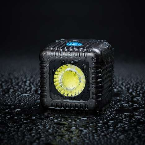 Cubed Underwater Camera Flashes - The Lume Cube Offers a Waterproof Design for Adventure Photography