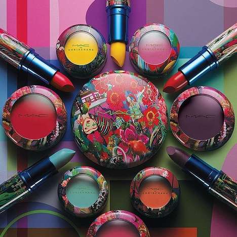 Psychedelic Cosmetic Packaging - Chris Chang's MAC Cosmetics Line Focuses on Chinese Traditions