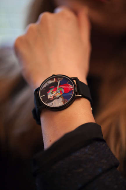 Pop Art Timepieces - These Unique Watches Pay Tribute to Famous Icons