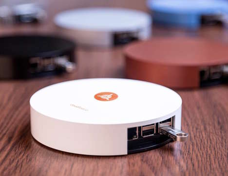 Personal Cloud Networks - The CloudFleet 'Blimp' Private Cloud Storage Device Offers Peace of Mind