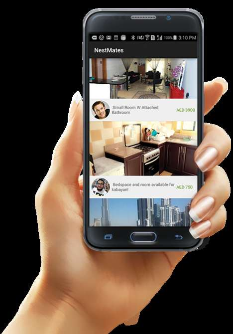Roommate-Finding Platforms - The 'NestMates' App Makes It Easier to Find Compatible Roommates