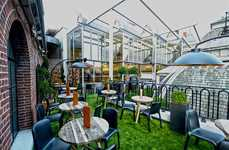 Luxury Vehicle Garden Pop-Ups - Lexus Recently Partnered with Harvey Nichols for a Garden Pop-Up