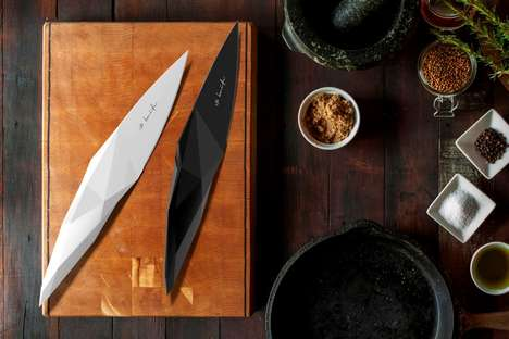 Stone Age-Inspired Knives - The 'IP Knife' is a Modern Knife Inspired by the Design of the Past