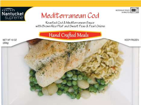 Exposed Vacuum-Sealed Meals - Marlees Nantucket Supreme Frozen Meals Have Restaurant Looks and Taste