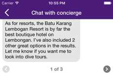 Chat-Based Travel Apps