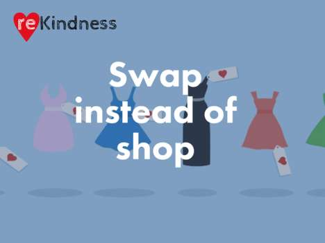 Garment-Swapping Platforms - This Social Platform Makes It Easy for Users to Swap Clothing Online