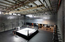'The Burrow' is a Stylish Boxing Gym That Blends Retro and Modern Aesthetics