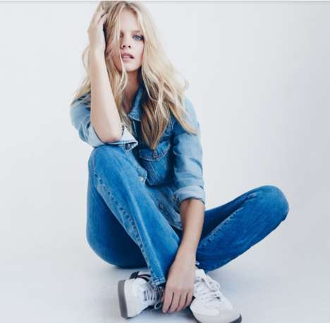 Denim-Focused Fashion Ads - The Forever 21 Spring Campaign is Effortlessly Chic
