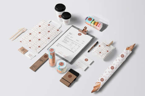 Whimsical Patisserie Branding - Patisserie Ludwig is Replicates the Parisian Experience in Karlsruhe