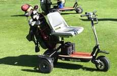 Electric Golf Carts - The GoCaddy is the World's Lightest Personal Golf Cart