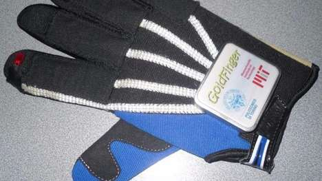 Self-Powered Smart Gloves - The Goldfinger Smart Glove Allows For Sustainable Gesture Control