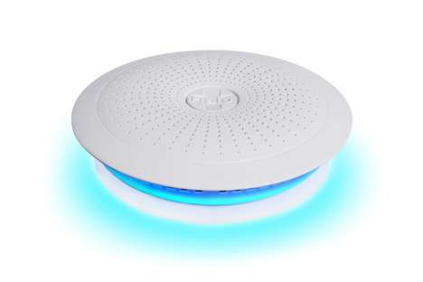 Off-Grid Smoke Detectors - The Halo is a Smart Device that Stays Functional When the Power Goes Out