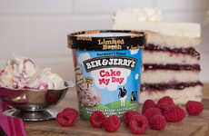 Cake Batter Ice Creams - The Latest Ben & Jerry's Flavor Includes Pieces of Vanilla Cake Batter