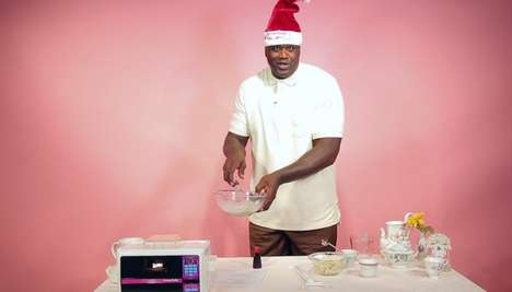 Budget Baking Videos - This Shaquille O'Neal Celebrity Campaign Raises Money for Toys for Tots