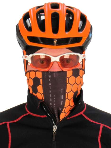 Facial Protection Accessories - The 'Weatherneck' Sport Bandana Provides Protection in the Cold