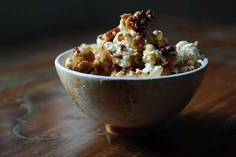 Boozy Popcorn Recipes - This Recipe for Maple Bacon Popcorn is Perfect for Long Winter Nights