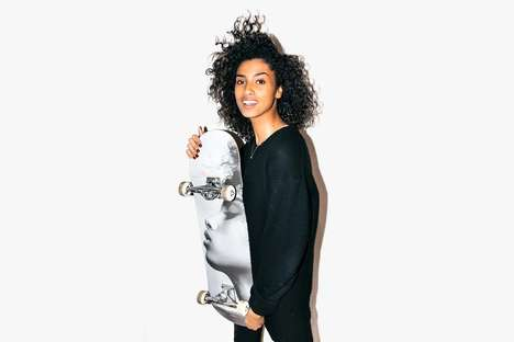 Supermodel Skate Decks - Fashion Model Imaan Hammam is the Face of This Limited-Edition Skateboard