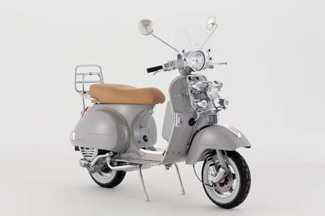 Jewelry-Inspired Scooters - The BUNNEY Accessories Vespa Promotes the Jewelry Brand's Luxe Aesthetic