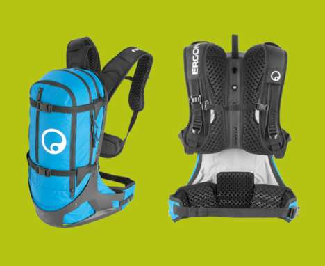 Flexible Athletic Backpacks - This 'Ergon BC2' Backpack is Designed to Provide Unhindered Movement