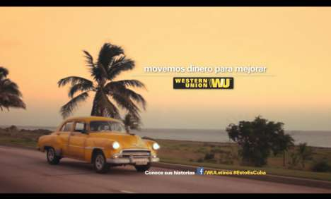 Cuban Currency Commercials - The New Western Union Television Spot Takes Place in Embargoed Country