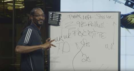 Sporty Rapper Talk Shows - Adidas and Snoop Dogg Teamed Up to Create 'Coach Snoop's Turf'd Up'