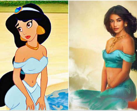Realistic Disney Princess Depictions