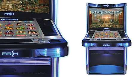 Customizable Slot Machines - Arch's New Slot Machine Lets Players Enjoy Various Games On One Display