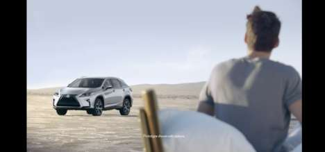 Enchanting Automobile Ads - The New Lexus RX Car Commercial Marries Cultural Stories with Vehicles