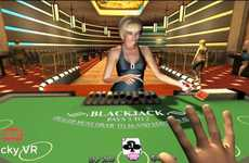 Immersive VR Casinos - This Game Allows Players to Gamble Real Money in a Virtual Environment