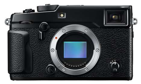 Flagship Rangefinder Cameras - The Fujifilm X-Pro2 Camera Can Manage High-Speed Continuous Shooting
