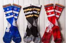 Cheering Sport Team Socks